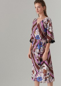 Sukienka Mohito w stylu casual z dekoltem w kształcie litery v