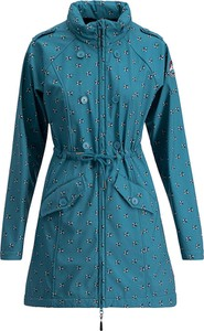 Niebieski płaszcz blutsgeschwister w stylu casual