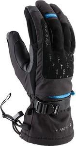 Czarne rękawiczki Viking