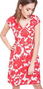 Sukienka ECHO mini z dekoltem w kształcie litery v