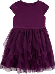 Sukienka dziewczęca OshKosh z bawełny