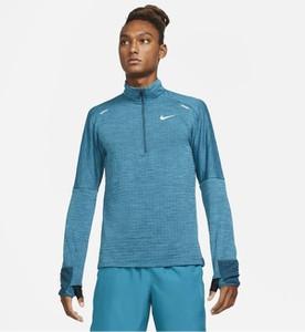Niebieska bluza Nike z plaru