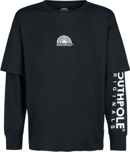 Koszulka z długim rękawem Emp z bawełny z długim rękawem w młodzieżowym stylu
