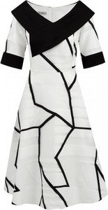 Sukienka Lizabella z krótkim rękawem mini z tkaniny