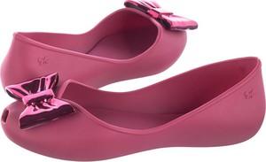 Różowe baleriny Zaxy z płaską podeszwą
