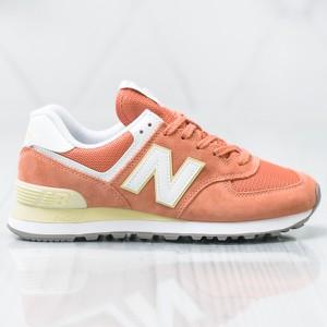 Buty sportowe New Balance z płaską podeszwą w sportowym stylu 574