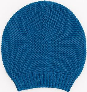 Turkusowa czapka Reserved dla chłopców