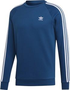 Niebieska bluza Adidas z bawełny