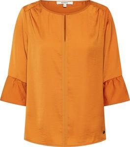 Pomarańczowa bluzka Garcia z długim rękawem
