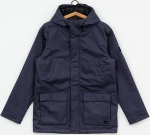 Granatowa kurtka Iriedaily w stylu casual z bawełny