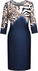Sukienka Fokus midi w stylu casual