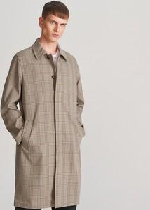 Płaszcz męski Reserved z bawełny w stylu casual