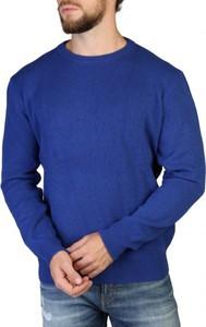 Sweter 100% Cashmere z okrągłym dekoltem z kaszmiru w stylu casual