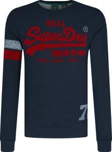 Granatowa bluza Superdry