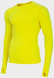 Bielizna bezszwowa męska H4Z19 BIMB004G 4F (żółta)