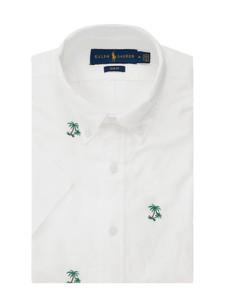 Koszula POLO RALPH LAUREN z bawełny z krótkim rękawem