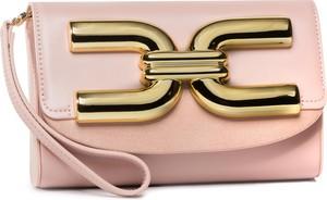 Różowa torebka Elisabetta Franchi na ramię
