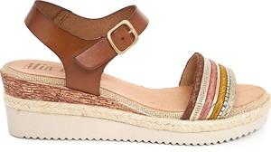 Sandały Mia Loé ze skóry