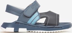 Niebieskie buty dziecięce letnie Multu dla chłopców