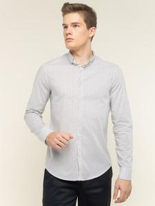 Koszula Armani Jeans z długim rękawem z klasycznym kołnierzykiem