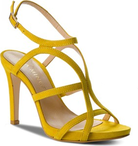 Żółte sandały Eva Minge