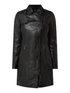 Czarny płaszcz Gipsy w stylu casual