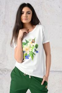 T-shirt Nessi Sportswear z krótkim rękawem