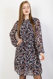 Sukienka Olika z długim rękawem w stylu casual mini