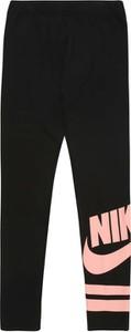 Czarne legginsy dziecięce Nike Sportswear