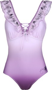 Fioletowy strój kąpielowy Emp w stylu casual