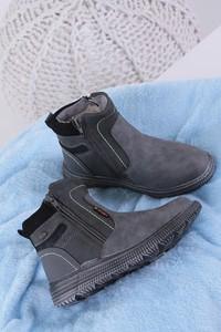 Buty dziecięce zimowe Casu na zamek