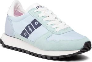 Buty sportowe Blauer Usa z płaską podeszwą