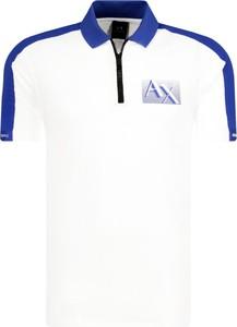 Koszulka polo Armani Jeans z krótkim rękawem