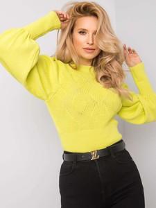 Żółty sweter Sheandher.pl