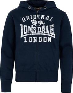 Czarna bluza dziecięca Lonsdale