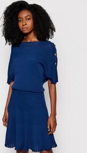 Sukienka Guess by Marciano w stylu casual mini z krótkim rękawem
