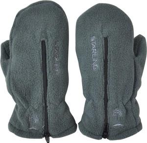 Zielone rękawiczki Starling