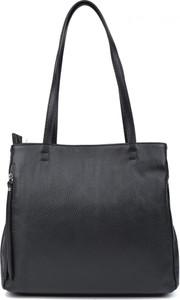Czarna torebka Robertam duża