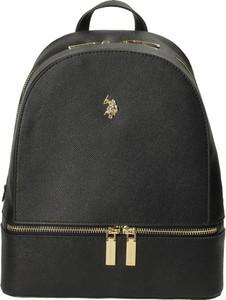 Czarny plecak U.S. Polo