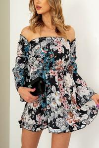 Sukienka ZOiO.pl mini z długim rękawem hiszpanka