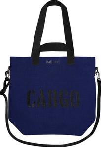 Granatowa torebka CARGO by OWEE duża w młodzieżowym stylu
