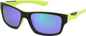 Okulary przeciwsłoneczne SP20064 Solano (czarno-limonkowe)