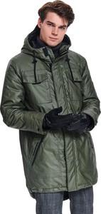 Zielona kurtka Top Secret w stylu casual z tkaniny