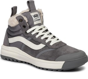 Brązowe buty damskie Vans, kolekcja zima 2020