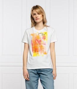 Bluzka Desigual w młodzieżowym stylu z krótkim rękawem