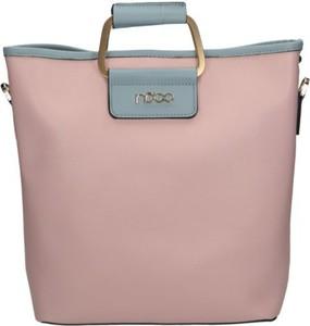 Różowa torebka NOBO duża