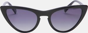 Czarne okulary damskie Kazar