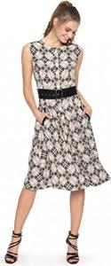 Sukienka L'AF z tkaniny