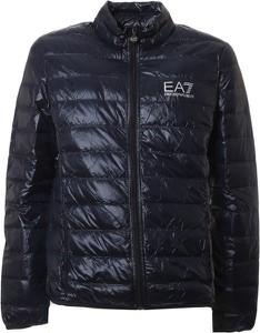 Granatowa kurtka EA7 Emporio Armani