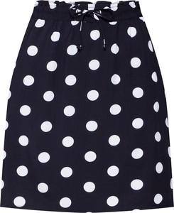 Czarna spódnica Q/s Designed By - S.oliver mini w młodzieżowym stylu